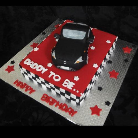 Car Fountain Cake (Branded Bakery)-Rawalpindi/Islamabad - Dr Bake Pakistan Send gifts to Lahore, Karachi, Islamabad, Pakistan