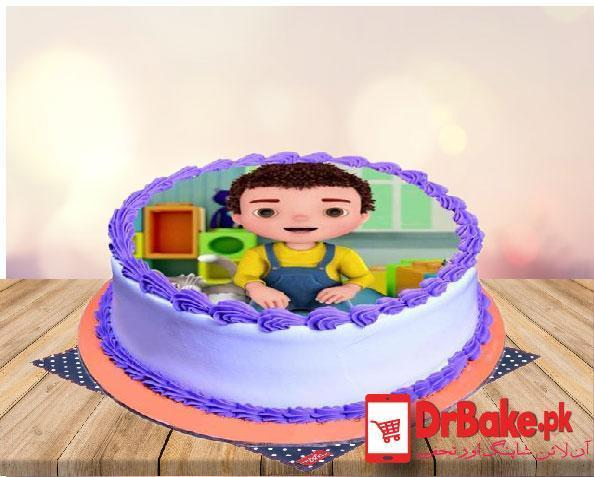 Edible Picture Cake-(Branded Bakery)-Lahore - Dr Bake Pakistan Send gifts to Lahore, Karachi, Islamabad, Pakistan