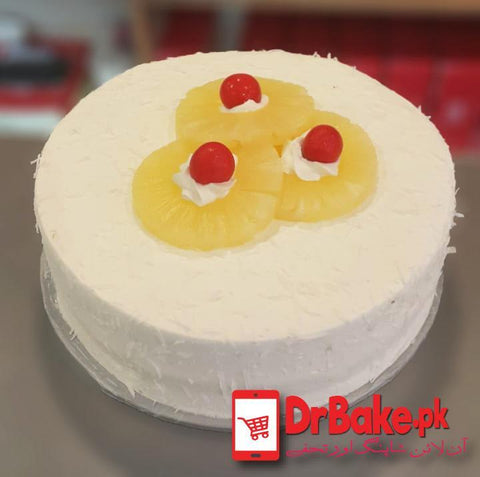 Pineapple Cake-Kitchen Cuisine-Lahore - Dr Bake Pakistan Send gifts to Lahore, Karachi, Islamabad, Pakistan