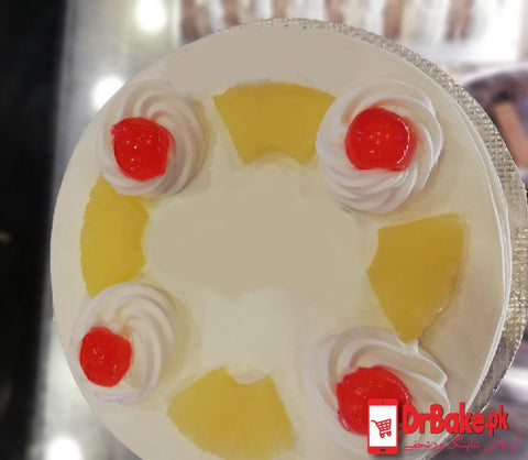 Pineapple Cake-Lahore 2 lbs Gourmet Bakery - Dr Bake Pakistan Send gifts to Lahore, Karachi, Islamabad, Pakistan
