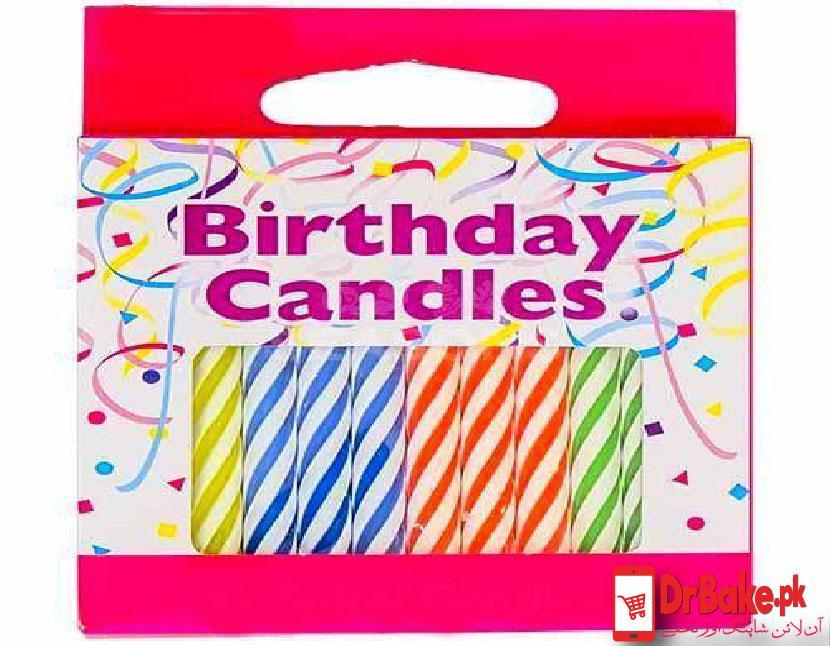 Send 12 Candles for Birthday Party To Pakistan | DrBake.pk