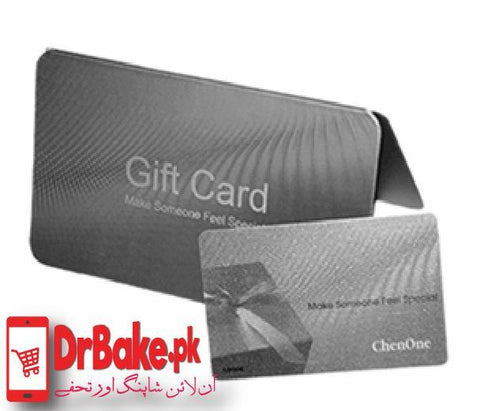 Chen One Gift Card (Value Rs.3000) - Dr Bake Pakistan Send gifts to Lahore, Karachi, Islamabad, Pakistan