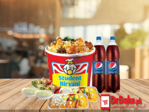 Party Pack-Student Biryani-Karachi - Dr Bake Pakistan Send gifts to Lahore, Karachi, Islamabad, Pakistan