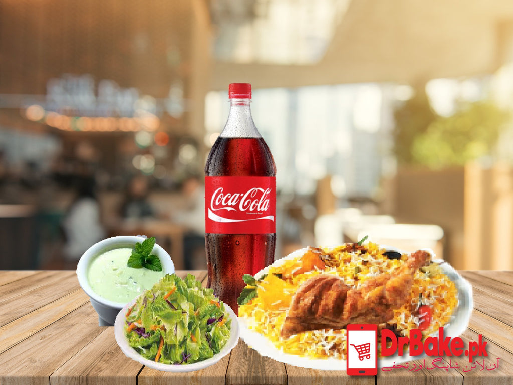 Chicken Tikka biryani Deal For 2 People-Student Biryani - Dr Bake Pakistan Send gifts to Lahore, Karachi, Islamabad, Pakistan