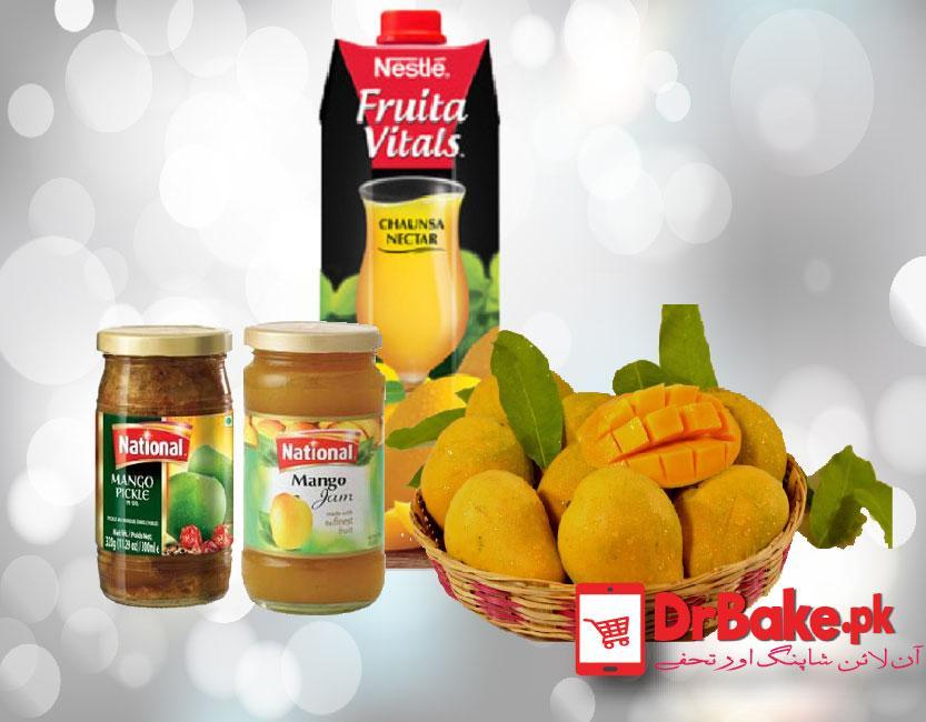 For Mangoes Lover - Dr Bake Pakistan Send gifts to Lahore, Karachi, Islamabad, Pakistan