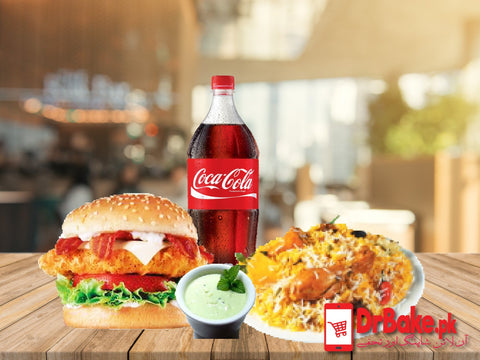 Fast food Deal For 2 People-Student Biryani - Dr Bake Pakistan Send gifts to Lahore, Karachi, Islamabad, Pakistan