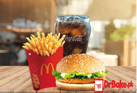 McDonald's McChicken Deal - Dr Bake Pakistan Send gifts to Lahore, Karachi, Islamabad, Pakistan