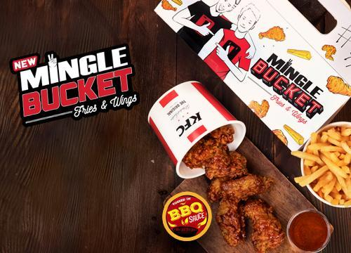 KFC's Mingle Bucket - Dr Bake Pakistan Send gifts to Lahore, Karachi, Islamabad, Pakistan