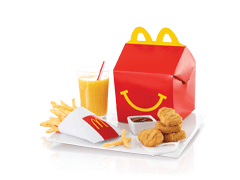Send McDonalds Happy Meal 4pcs Chicken Nugget To Pakistan | DrBake.pk