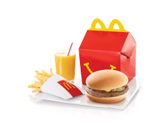 Send McDonalds Happy Meal Beef Burger To Pakistan | DrBake.pk