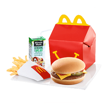 Send McDonalds Happy Meal Cheese Burger To Pakistan | DrBake.pk