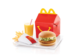 Send McDonalds Happy Meal Chicken Burger To Pakistan | DrBake.pk