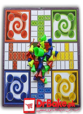 Large Ludo Game - Dr Bake Pakistan Send gifts to Lahore, Karachi, Islamabad, Pakistan