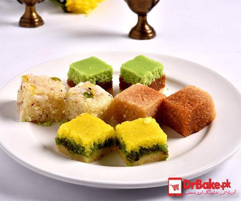 Assorted Special Sweets - Bundu Khan - Dr Bake Pakistan Send gifts to Lahore, Karachi, Islamabad, Pakistan