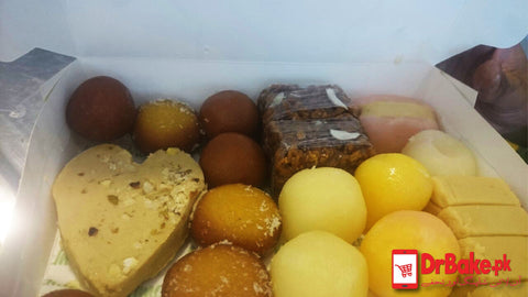 Mix Mithai/ Sweets - Gourmet Sweets - Dr Bake Pakistan Send gifts to Lahore, Karachi, Islamabad, Pakistan