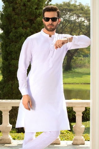 White Chairman Latha - Gul Ahmed (Unstitched)