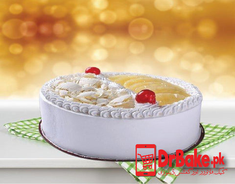 Pineapple Cake-Bread & Beyond Bakery-Lahore - Dr Bake Pakistan Send gifts to Lahore, Karachi, Islamabad, Pakistan