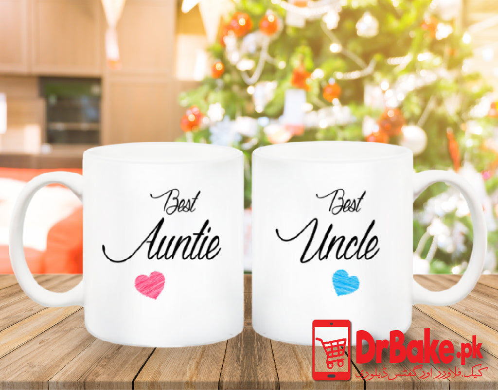 Send Uncle and Aunt Customized Mug to Pakistan with DrBake.pk