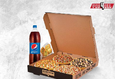 Send Pizza Hut Pan 4 All To Pakistan | DrBake.pk