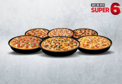 Super 6 - Pizza Hut - Dr Bake Pakistan Send gifts to Lahore, Karachi, Islamabad, Pakistan