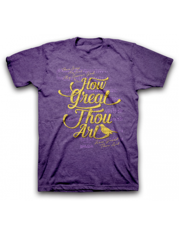 How Great Thou Art Christian T-Shirt - T-shirt Store USA - 1