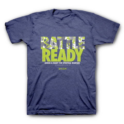 Battle Ready Christian T-Shirt -  - 1