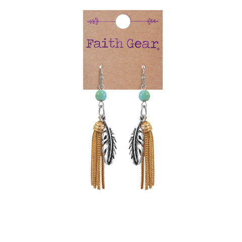 Feathers Women's Earrings - T-shirt Store USA