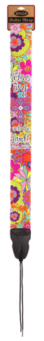 Floral Guitar Strap - T-shirt Store USA