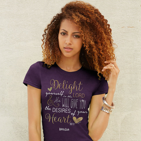 Delight in the Lord Missy Shirt -  - 1