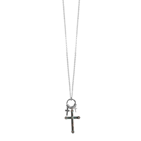Mixed Crosses Women's Necklace - T-shirt Store USA