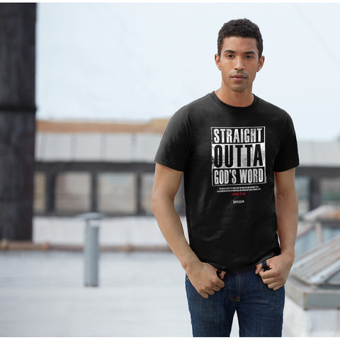 Straight Outta God's Word Christian T-Shirt - T-shirt Store USA - 1