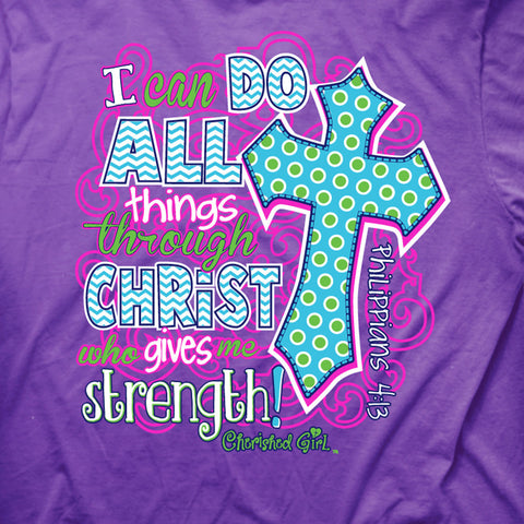 I Can Do All Things T-Shirt - T-shirt Store USA - 1