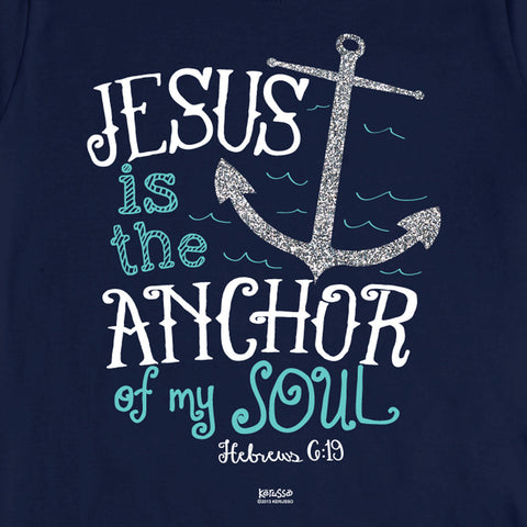Jesus Is The Anchor T-Shirt - T-shirt Store USA - 1