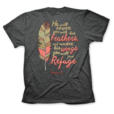 Cherished Feathers T-Shirt -  - 1