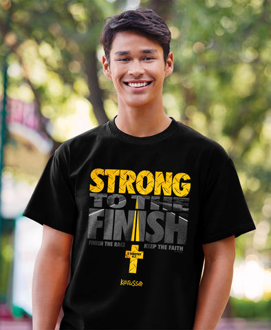 Strong To The Finish T-Shirt - T-shirt Store USA - 1