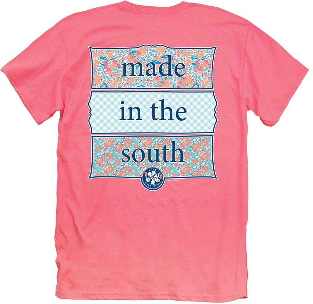 Made In The South Women's Southern T-Shirt, Itsa Girl Thing