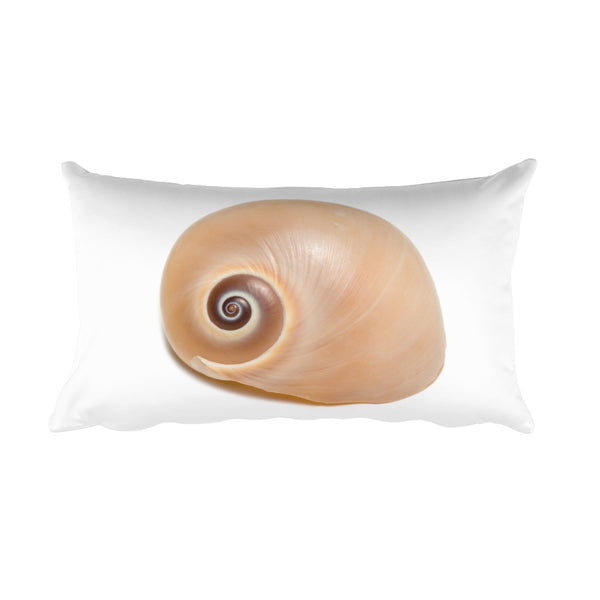 Seashell Spin Soul Rectangular Pillow