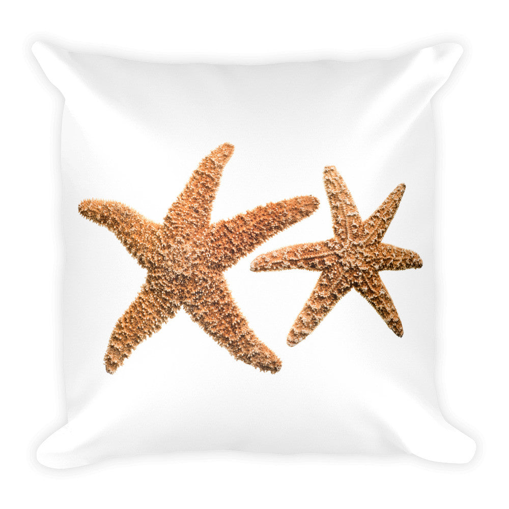 Starfish Soul Square Pillow