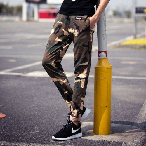Camo Joggers in Slim Fit