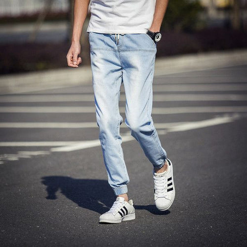 Casual Jog Jeans Light Wash