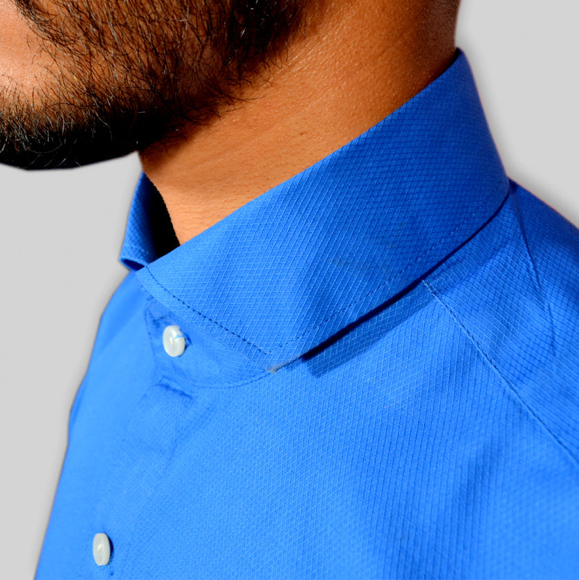 CERULEAN COLOR SHIRT