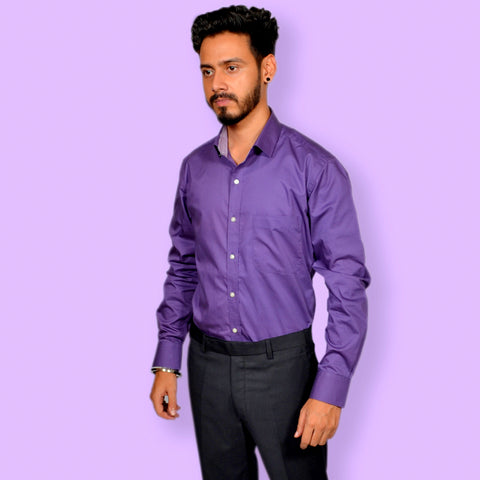 GORBIO PURPLE SHIRT