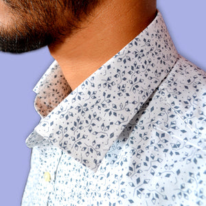 GEOMETRICAL FLOWER SHIRT