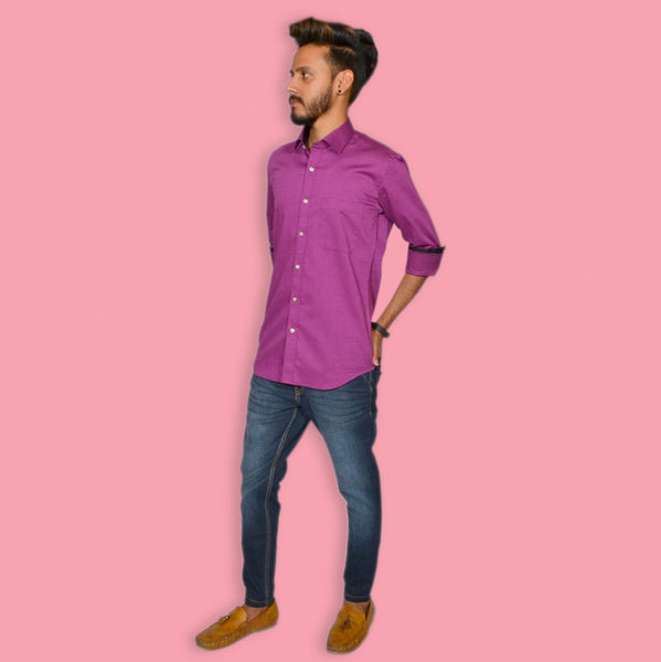 LILAC COLOR SHIRT