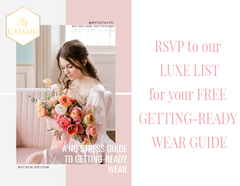 A No-Stress Guide To Planning Getting-Ready Wear For Your Wedding Day