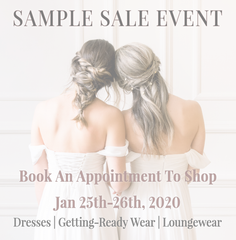 Our First Sample Sale Event