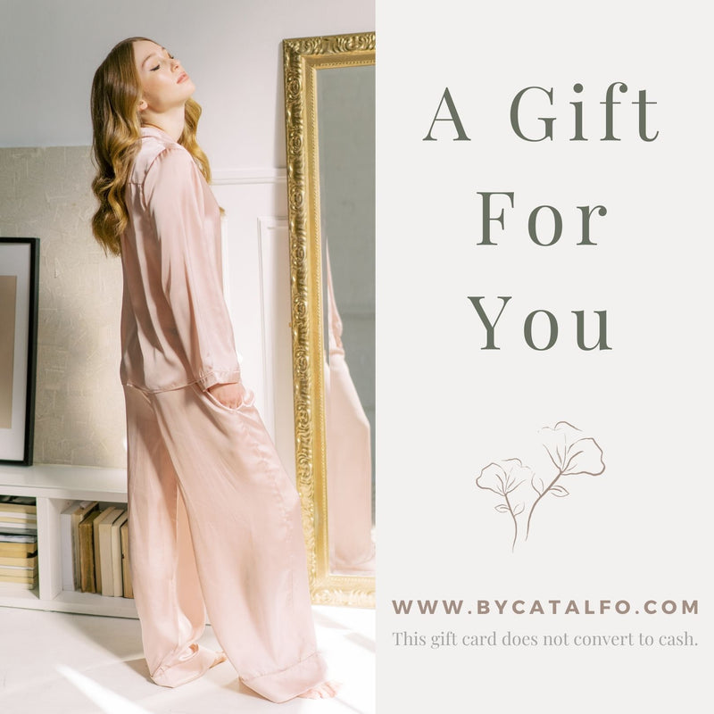 pyjamas and loungewear gift card for Her.