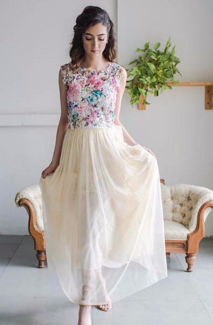 custom colour tulle bridal skirt for modern bridesmaid attire