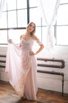 elegant coloured gown in toronto from by catalfo