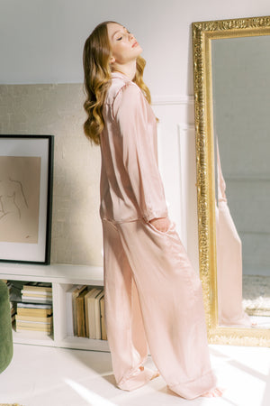 Heavenly Pj Set, Blush